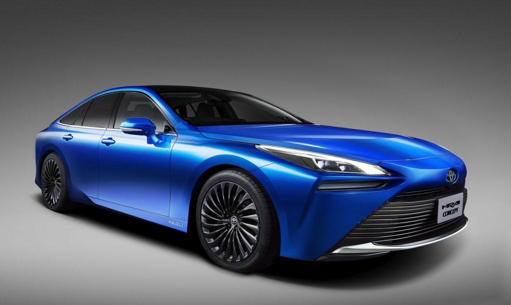 Toyota mirai terbaru dengan desain yang lebih dinamis