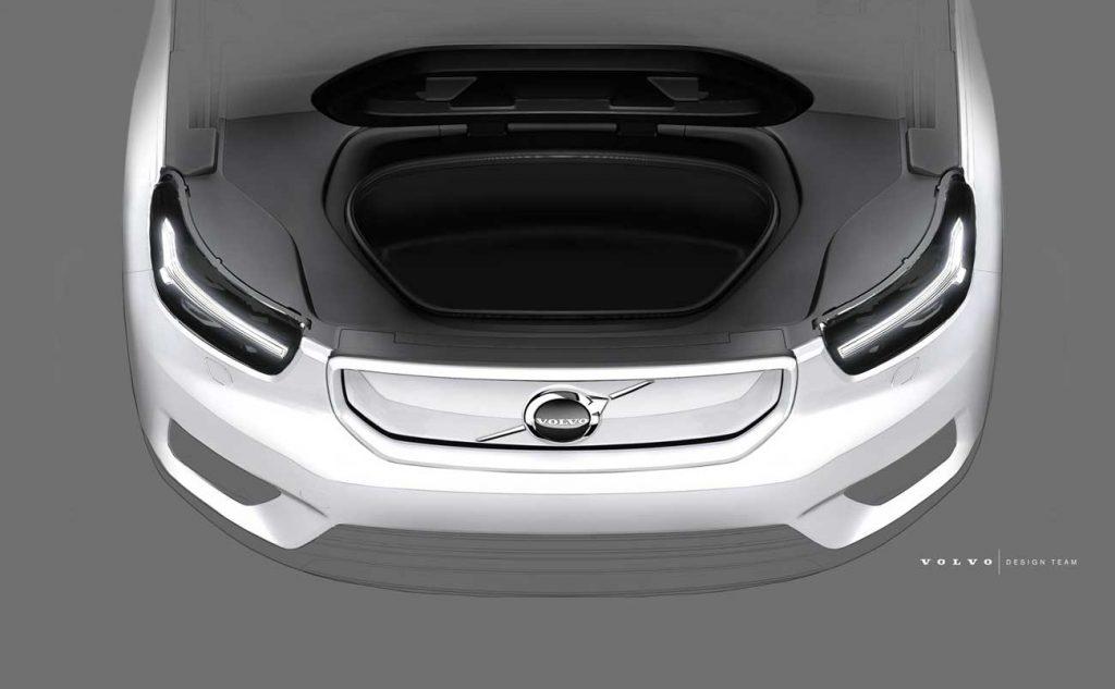 Volvo XC40 Elektrik Akan Punya Bagasi Depan