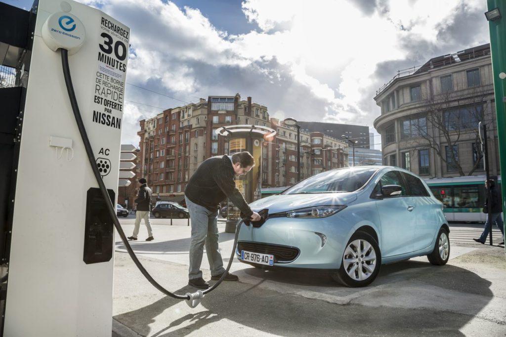Mobil listrik Renault Zoe