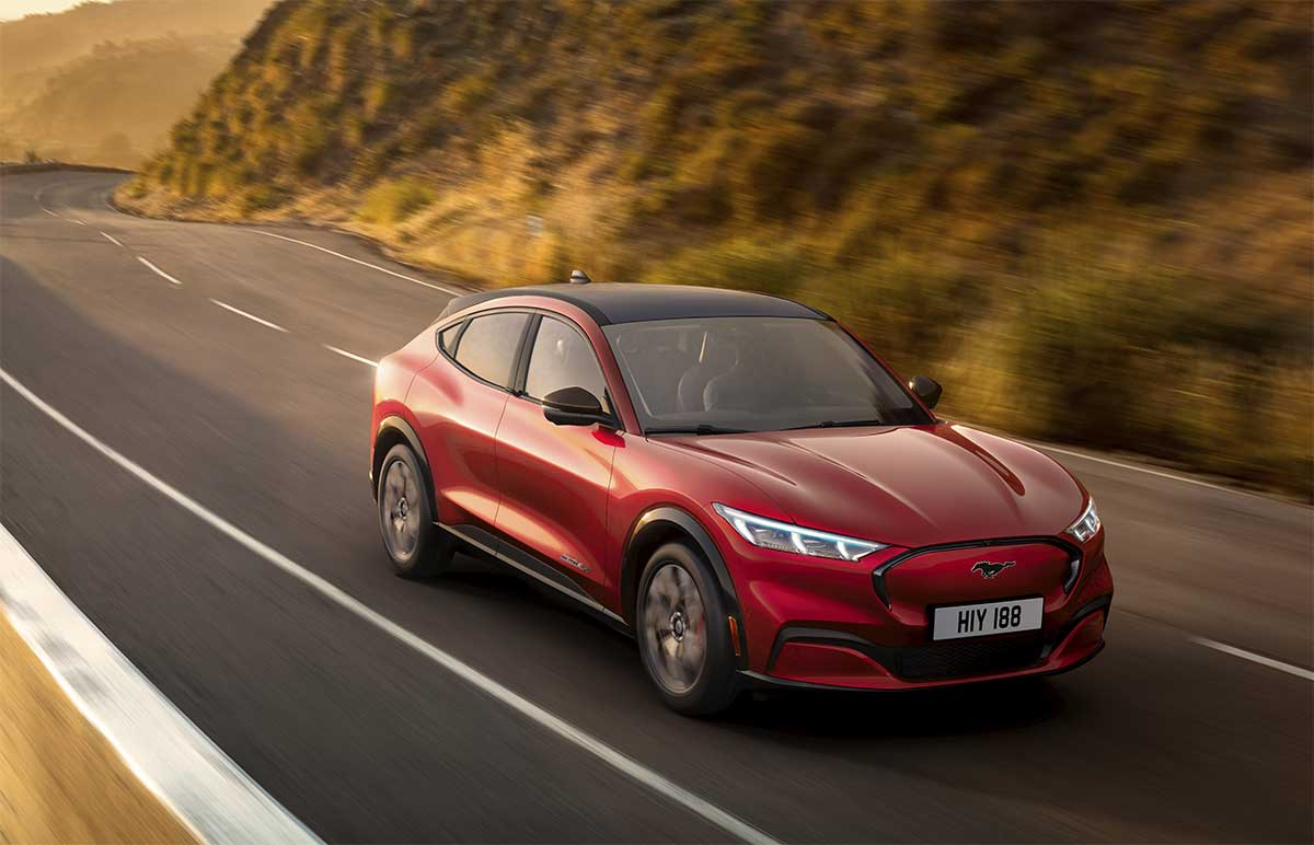 Ford Mach-E : Ford Mustang Versi Listrik