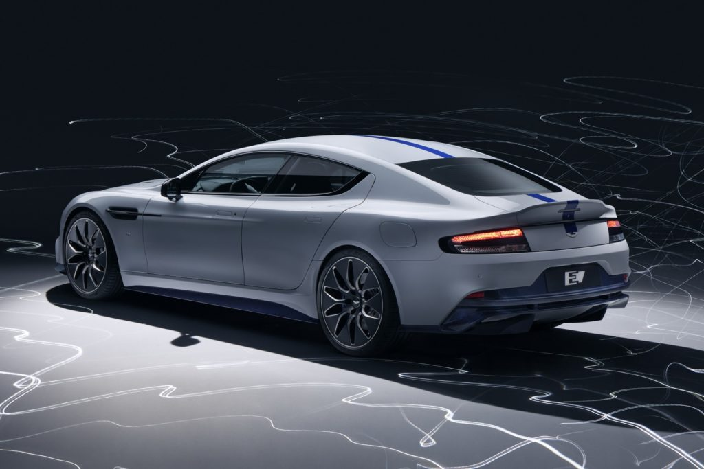 Mobil listrik Aston Martin Rapid E