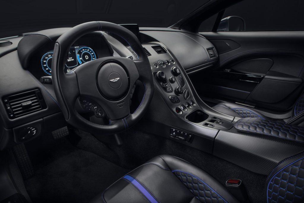Supercar Listrik Aston Martin Rapid E