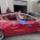 Walau Bodi Hancur Tesla Model 3 Ini Masih Bisa Jalan