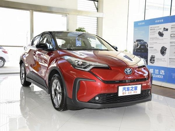 Toyota CHR elektrik di Cina