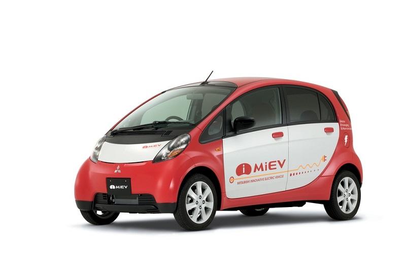 Mobil listrik mitsubishi-MiEV