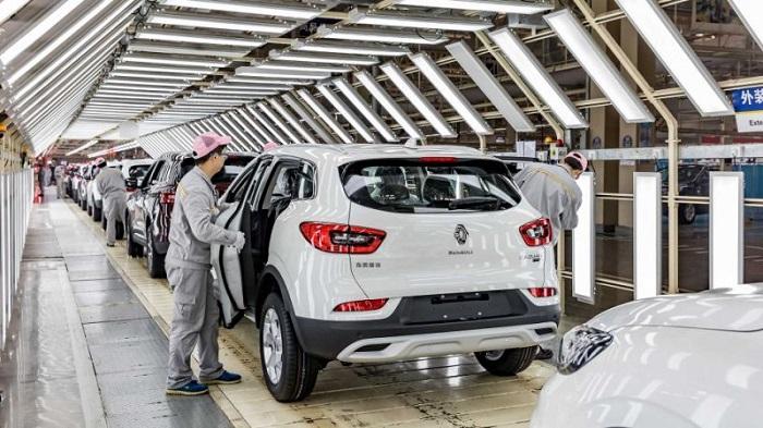 Pabrik Renault di Wuhan -Cina