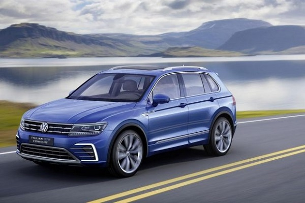 VW Tiguan hybrid rechargeable
