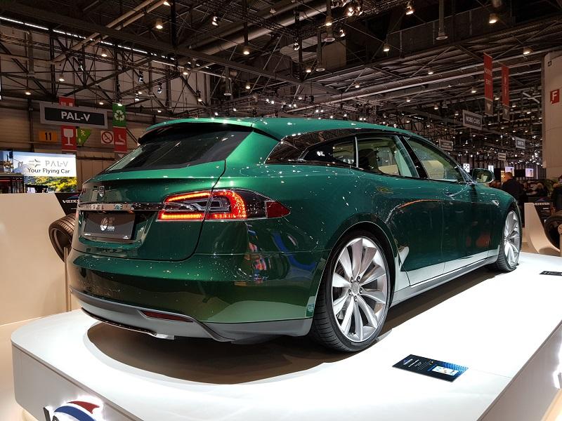Tesla station wagon