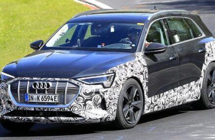 Audi e-Tron S Kepergok Sedang Tes Di Sirkuit Nurbugring