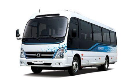 Hyundai Meluncurkan Bus Listrik Pertama Mereka