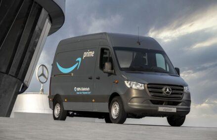 Amazon Order 1800 Truk Listrik Buatan Mercedes