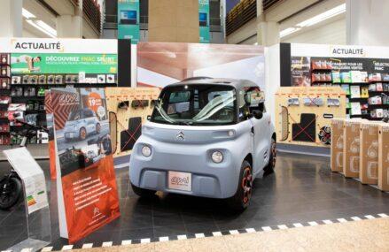 Di Perancis, Mobil Listrik Ini Dijual Di Toko Elektronik