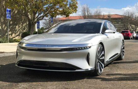 Lucid Air – Jarak Tempuhnya Lebih Jauh Dari Tesla