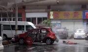 Sebuah Mobil Listrik Meledak Pada Saat Sedang Dicharge