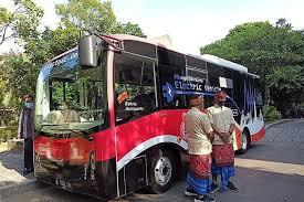Pemerintah Bali Mulai Uji Coba Bus Listrik