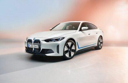 BMW Rilis Foto Dan Video Sedan Listrik i4