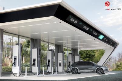 Hyundai Akan Bikin Stasiun Pengisian Listrik Cepat : 5 Menit Untuk Jarak 100 km
