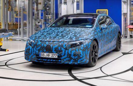 Mercedes Buka Pesanan Di Pasar Eropa Untuk Sedan Listrik EQS
