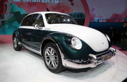 Cina Jual Tiruan VW Kodok Bermesin Elektrik