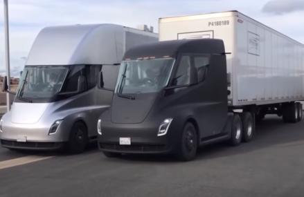 Video : Truk Listrik Tesla Semi Tertangkap Kamera Sedang Di Tes Di Jalan Umum