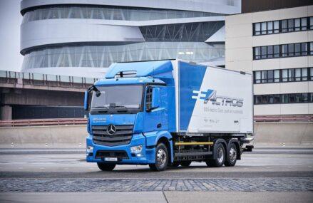 Mercedes Luncurkan eActros – Truk 100% Elektrik